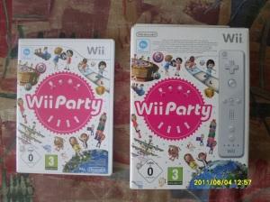 Wii Party dobozzal