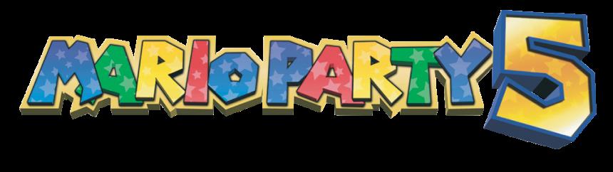 Mario Party 5 logo