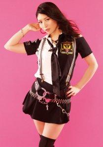 Chihara Minori a Planet patrol kislemez fotózásán