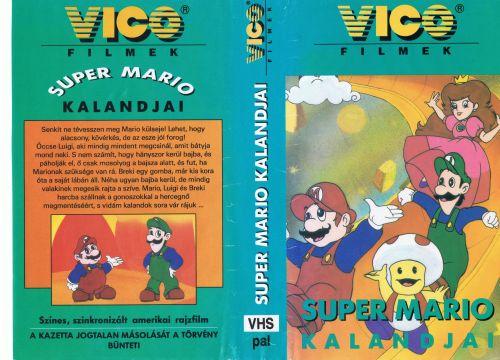 Super Mario Kalandjai VHS