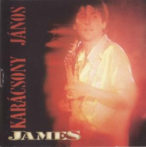 Karácsony János: James album borítója
