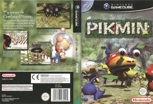 Pikmin GC EU cover