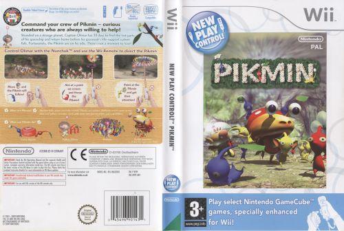 Pikmin Wii EU cover I