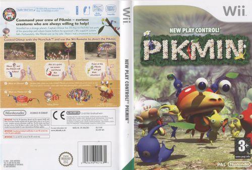 Pikmin Wii EU cover II