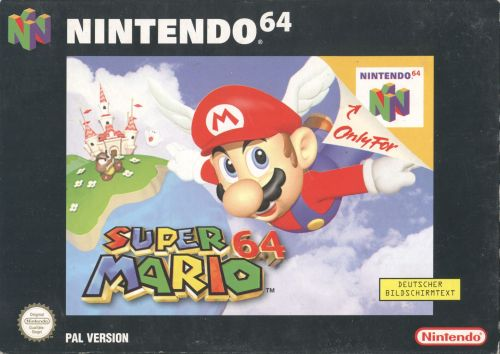 Super Mario 64 PAL front