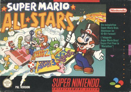 Super Mario All-Stars front