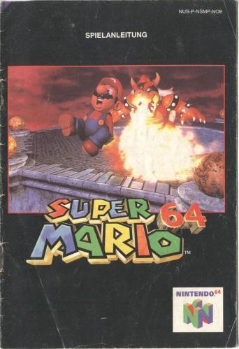 Super Mario 64 Spielanleitung