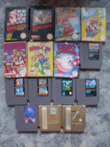 NES játékaim