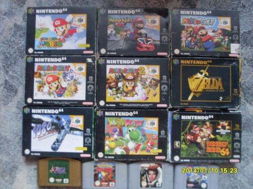 N64 játékaim