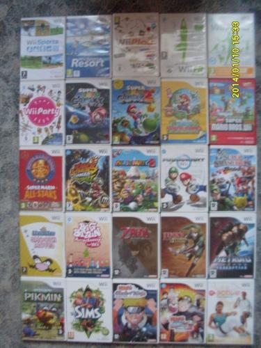 Wii játékaim