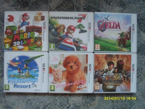 3DS játékaim