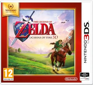 The Legend of Zelda Ocarina of Time 3D Nintendo Selects